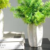 仿真假草植物裝飾盆栽綠植家居室內擺件【奈良優品】