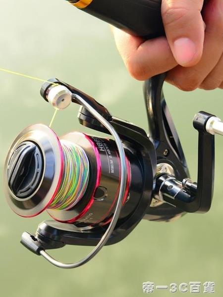 全金屬頭漁輪魚線輪 紡車輪魚輪遠投海桿輪海竿輪路亞釣魚輪【帝一3C旗艦】