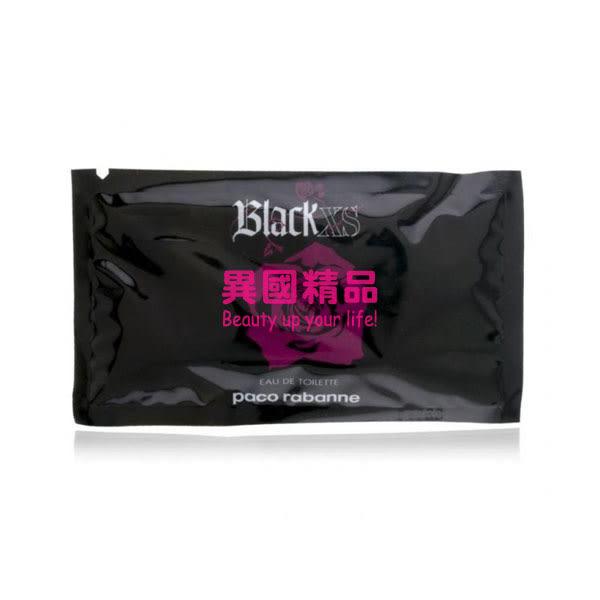 Black XS Paco Rabanne 女性針管香水 1ml EDT VIAL SPR【特價】★beauty pie★