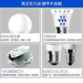 led燈泡e27螺口小球泡12W節能燈泡螺旋家用超亮照明燈 免運