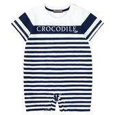 『小鱷魚童裝』條紋連身裝(0號~01號)535530