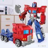 變形金剛 合金變形玩具金剛5大黃蜂機器人兒童男孩飛機恐龍汽車模型 CP2580【甜心小妮童裝】