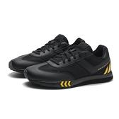 PONY 休閒鞋 MONTREAL 黑底 黑黃條紋 輕量 百搭 女 (布魯克林) 82W1MO01BK