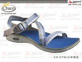 【速捷戶外】Chaco涼鞋 -  美國專業戶外休閒涼鞋 Mystic Sandal CH-ETW26 女 (漸層藍)