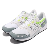 Asics 休閒鞋 Gel-Lyte 白 灰 螢光黃 復古 亞瑟士 男鞋 運動鞋【ACS】 1193A092102