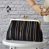 布藝diy 靈貓進口提花閨蜜包親子包口金包材料包手工包 - 歐美韓熱銷
