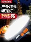 LED露營燈帳篷燈戶外照明燈充電掛燈超亮野營應急營地磁鐵便攜式 【父親節特惠】