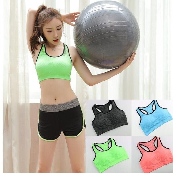 運動內衣女跑步防震