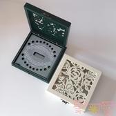 兒童乳牙盒男女孩紀念品收納盒胎毛乳牙收藏盒【聚可愛】