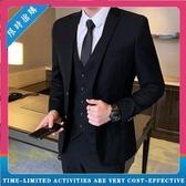 修身西裝套裝 男士商務休閒青少年小西服 外套結婚禮服職業正裝