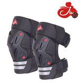 成人摩托騎行護膝機車護具保暖防風防摔男騎車護腿