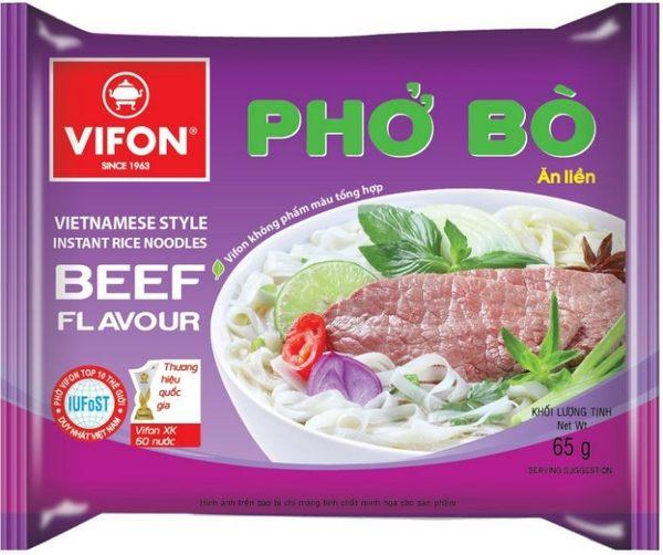 【東南亞食品】VIFON越南即食牛肉河粉-65g