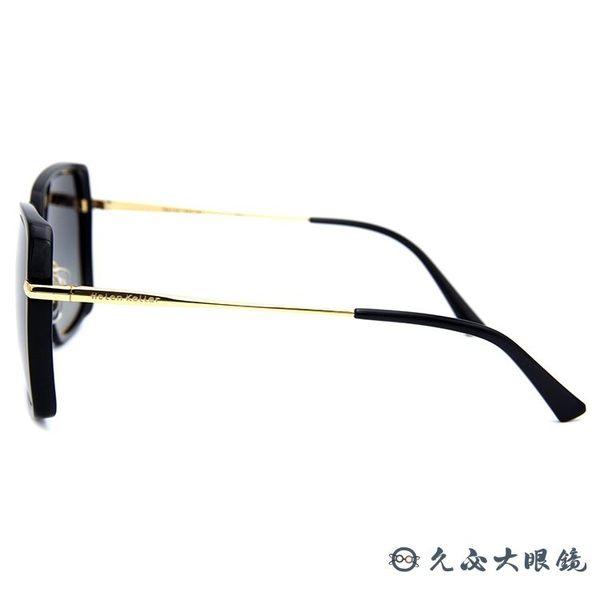 HELEN KELLER 林志玲代言 H8621 (黑-金) 方框 太陽眼鏡 久必大眼鏡
