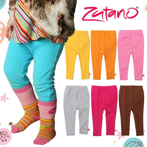 長褲 / 內搭褲 Zutano 純棉寶寶修身內搭褲七款 BB02-CHOC/FUCH/-HOTP/ORAN/POOL/YELL/BB03-GRAY
