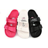 童鞋城堡-卡娜赫拉 女款 雙排扣超輕量拖鞋KI0598 黑/白/桃 (共三色)