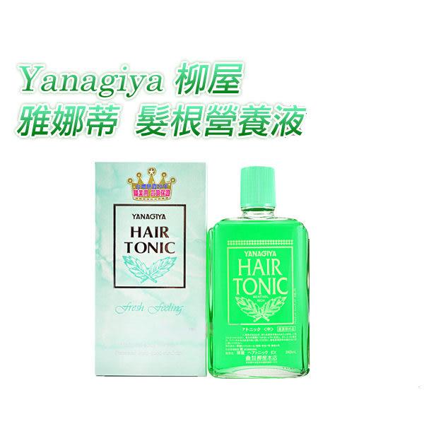 Yanagiya 柳屋 雅娜蒂 髮根營養液150ML 養髮液【YES 美妝】