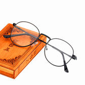 文藝復古潮流眼鏡架男成品度數眼鏡框女平光潮 芥末原創