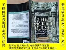 二手書博民逛書店the罕見sacred quest and invitation