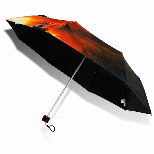 【Disney x Pirates】鬼盜船系列_抗UV傘-黑膠遮光傘/晴雨傘-洋傘防曬傘三折傘折疊傘折傘+1