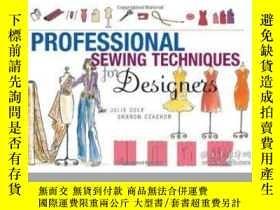 二手書博民逛書店Professional罕見Sewing Techniques For DesignersY255562 Ju