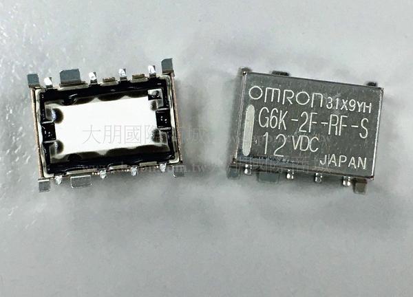 *大朋電子商城*OMRON G6K-2F-RF-S-5VDC 繼電器Relay(1入)