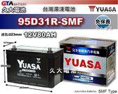 ✚久大電池❚ YUASA 湯淺 95D31R 免保養 汽車電瓶 RODRO 一路發3.5T抬頭車 TROOPER 3.5
