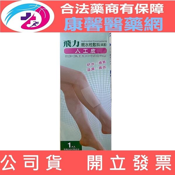 【2003880】(Fe Li 飛力醫療)醫療用人工皮長方形 - 5X20公分(1片/包)