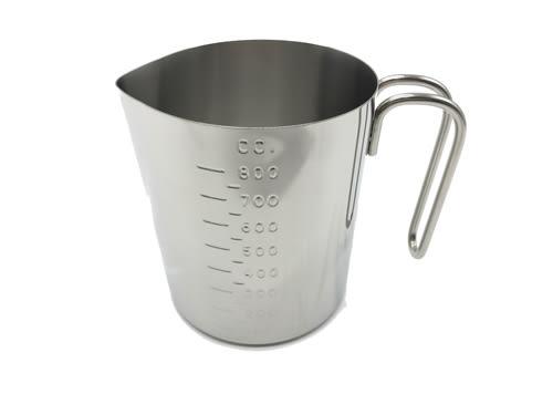 【好市吉居家生活】ZEBRA 斑馬牌 112590 不銹鋼量杯 800ML 刻度量杯 計量杯