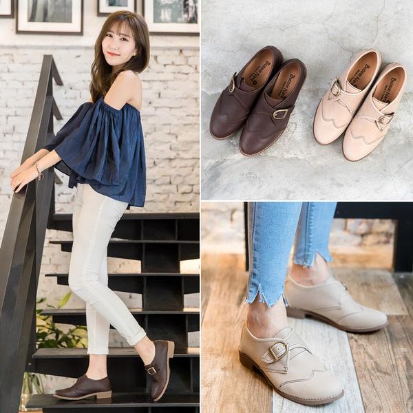 質文青簡單穿孟克鞋。波波娜拉 Bubble Nara。手工革製原皮單品,專注腳下的每一步 NA66-140