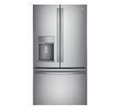 【得意家電】美國 GE 奇異 PFE28KSSS 不銹鋼法式冰箱門 ※熱線07-7428010