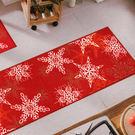 范登伯格 聖誕系列 雪花走道毯-40x120cm