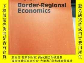 二手書博民逛書店Border-Regional罕見EconomicsY21714