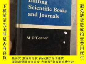 二手書博民逛書店英文書罕見editing scientific books and journals 編輯科學書籍和期刊Y16