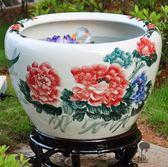陶瓷器過濾噴水魚缸加氧泵噴泉流水創意風水循環養中國風泵TZGZ 免運快速出貨