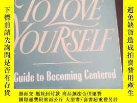 二手書博民逛書店LEARNING罕見TO LOVE YOURSELF(A GUIDE TO BECOMING GENTERED)奇