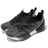 Reebok 慢跑鞋 Fusion Flexweave 黑 灰 全新科技針織鞋面 運動鞋 女鞋【PUMP306】 CN2430
