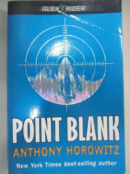 【書寶二手書T4/原文小說_BBZ】POINT BLANK_Horowitz, Anthony