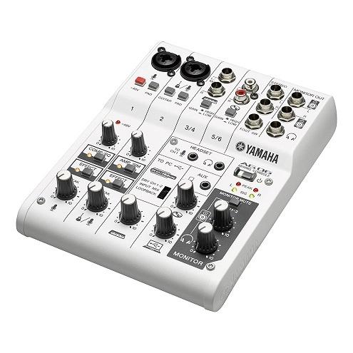 YAMAHA AG06 錄音介面 混音機 6軌 多功能 網路直播 公司貨 保固一年