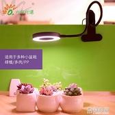 植物生長燈光合全光譜led桌面usb仿太陽光創意家用綠植多肉補光燈 ATF 極有家