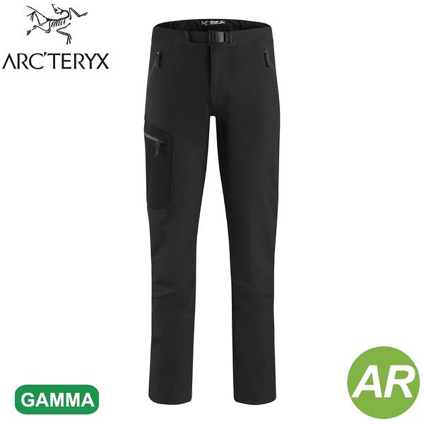 【ARC'TERYX 始祖鳥 男 Gamma AR 軟殼長褲《黑》】17225/防潑水/防風長褲/衝鋒褲