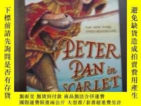 二手書博民逛書店PETER罕見PAN IN SCARLETY10980 PETER PAN IN SCARLET PETER