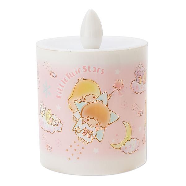 【震撼精品百貨】Little Twin Stars KiKi&LaLa 雙子星小天使~雙子星蠟燭室內燈-雪人造型