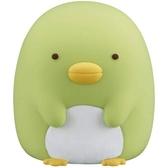 〔小禮堂〕角落生物 企鵝 迷你造型矽膠搖搖公仔玩具《綠》動動玩具.模型 4904790-21969