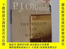 二手書博民逛書店P.J.罕見O Rourke on the Wealth of