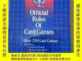 二手書博民逛書店Bicycle罕見Official Rules of Card