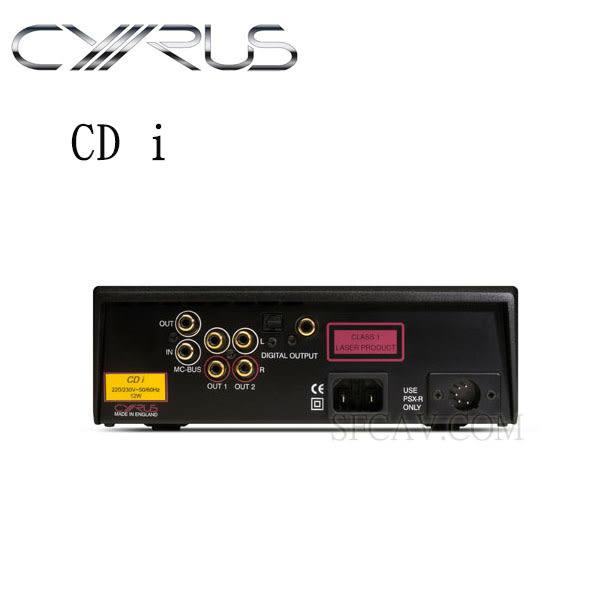 【竹北勝豐群音響】CYRUS CD i  雷射唱盤