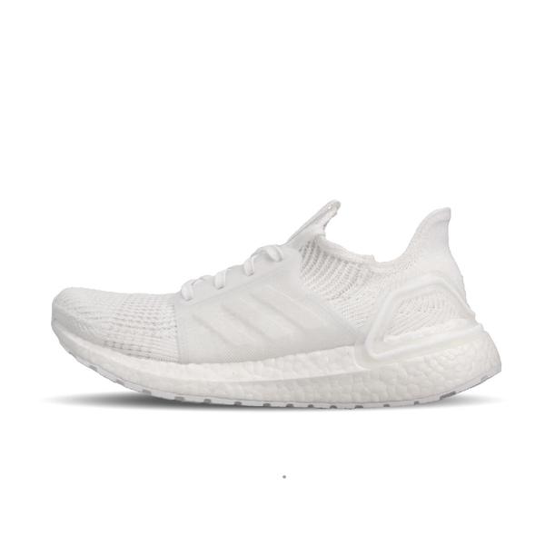 【五折特賣】adidas 慢跑鞋 UltraBOOST 19 W 白 全白 低筒 女鞋 運動鞋 【ACS】 G54015
