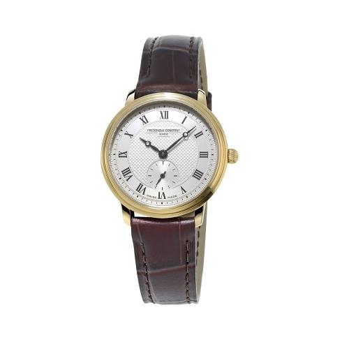 CONSTANT 康斯登/典雅精緻超薄女腕錶/10m鍍金/FC-235M1S5