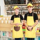 圍裙 廚房餐廳奶茶咖啡美甲店工作服
