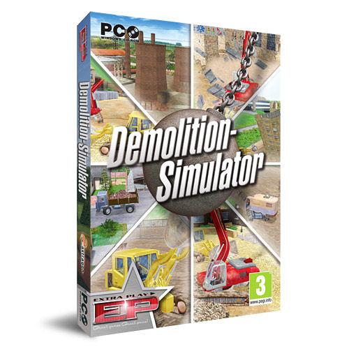 【軟體採Go網】★滿5支現折200送搖桿★PCGAME-模擬拆遷王 Demolition Simulator 盒裝完整版